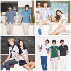 EXO-K and Kim Yoo Jung Are Hip and Innocent Youngsters in School Uniforms - Soompi