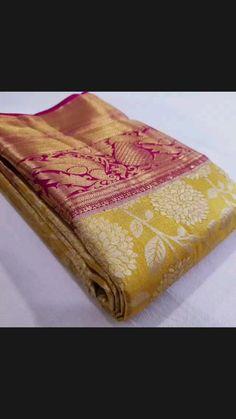 Silk Sarees With Price, Kanchipuram Saree, Blouse Neck Designs, Saree Dress, Saree Styles, Indian Sarees, Festival Fashion, Pure Products, Bridal