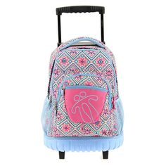 7bi es el modelo de esta magnifica mochila Totto con ruedas se puede llevar también a la espalda de gran calidad