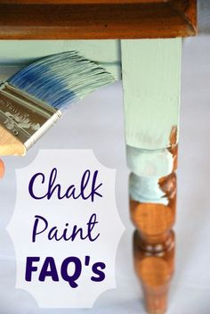 Answers to the most common questions about chalk paint. http://canarystreetcrafts.com
