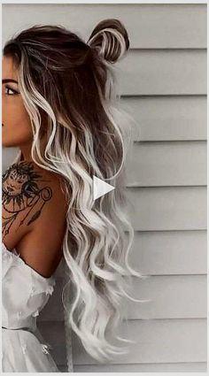 Summer Hair Color For Brunettes, Hair Color For Black Hair, Dreads, Medium Hair Styles, Curly Hair Styles, Summer Hairstyles For Medium Hair, Beach Hairstyles, Cute Hairstyles, Professional Hair Color