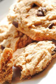 Chocolate Chip Oat-Almond Cookies (Gluten Free & Vegan)