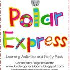 This packet includes learning activities to enhance your Polar Express Unit along with a banner and party supplies for your Polar Express Party.Th...