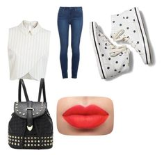 """""""sílento !"""" by samaly ❤ liked on Polyvore featuring beauty, Miss Selfridge, Paige Denim and Keds"""