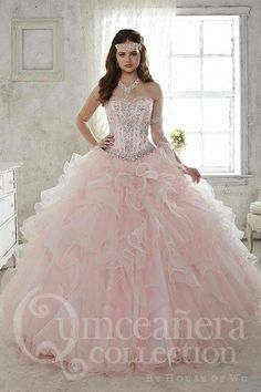 6982cef3aa 18 Best Quinceanera dresses blue images in 2019