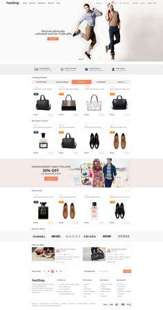 FastShop - Amazing WooCommerce Shop Theme #fashion #flat design #marketplace • Download ➝ https://themeforest.net/item/fastshop-amazing-woocommerce-shop-theme/20416116?ref=rabosch