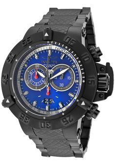 Price:$569.99 #watches Invicta 10194, With a bold, masculine design, Invicta chronograph has a poised and calm ambience that's sure to have you looking twice.
