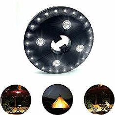 AIDOUT Patio Umbrella Lights – 28 LED Night Light 400 Lumens Umbrella Lights Battery Operated Umbrella Pole Light Outdoor Lighting – 3 Lighting Mode for Patio Umbrellas, Outdoor Use or Camping Tents