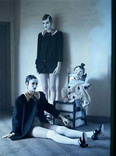 """""""Mechanical Dolls"""" Tim Walker for Vogue Italia October 201."""