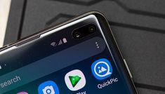 Samsung Galaxy S10 la protezione per lo schermo è presente di fabbrica Samsung Galaxy Accessories, Samsung Galaxy Phones, Cover Design, Charger, Smartphone, Phone Cases, App, Electronics, Apps