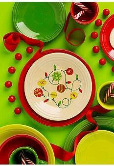 Fiestaware Christmas Tree