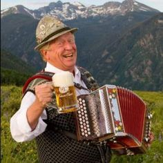 Visitors of the Beaver Creek Plaza will find themselves welcomed with the sights and sounds of Germany. Local German entertainer Helmut Fricker, decked out in traditional lederhosen, often wanders the plaza while playing an accordion or alpenhorn and belting out German songs and yodeling traditional melodies.    Fricker has been in Vail Valley since the seventies, and has performed in Beaver Creek since it opened in 1980. He has stated that he is Beaver Creek's first official employee.