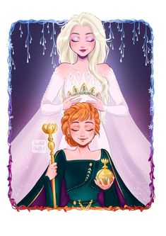 Disney Frozen 2 Die Eiskönigin Elsa Anna Arendelle Nokk into the unknown Elsanna Disney Pixar, Frozen Disney, Disney Memes, Disney Fan Art, Humour Disney, Princesa Disney Frozen, Disney E Dreamworks, Disney Animation, Disney Cartoons