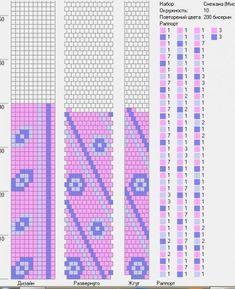 10 around bead crochet rope pattern