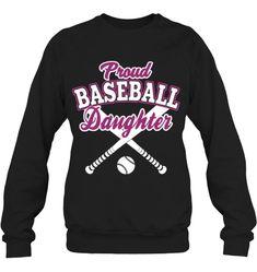 Proud Baseball Sister Baseball Sister, Baseball Tees, Hoodies, Sweatshirts, Sisters, Daughter, Sleeves, Fashion, Moda