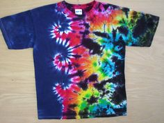 Tie Dye Wave of Color Size Large by tiedyetodd on Etsy