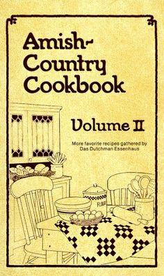 I love Amish recipes!!!