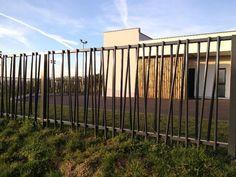 Fabricant Garde corps structural réalisé pour une crèche en côte d'or Lyon, Garde corps design en aluminium