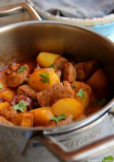 Sauté de porc au chorizo en cocotte »