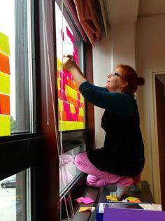 Tykkää-projektin aloitus / Post-it note advertising for Tikkurila Parish Advertising, Note, Home Decor, Decoration Home, Room Decor, Home Interior Design, Home Decoration, Interior Design