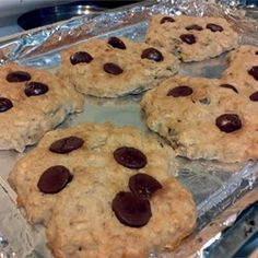 Applesauce Oatmeal Cookies - modified by adding Hershey's cinnamon chips and vanilla- really good