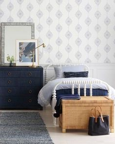 Where to Buy Wallpaper Online: 12 Great Sources | Caroline on Design Couch Furniture, Bedroom Furniture Sets, Grey Bedroom Furniture Sets, Grey Bedroom Furniture, Decor, Furniture, Furniture Sets, Bedroom Storage, Home Decor