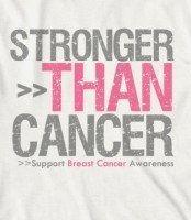 Stronger Than Cancer @Tina Doshi Doshi W Robinson WE <3 you!