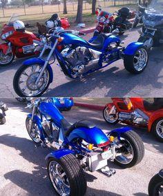 Honda Fury VT13CXA Trike