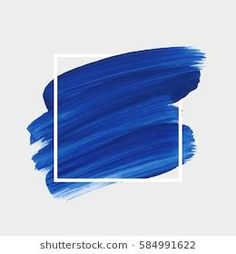Abstract brush paint texture design acrylic stroke poster over square frame vector illustration. Perfect design for headline, logo and sale banner. Logo Background, Watercolor Background, Background Images, Brush Background, Background Designs, Blue Backgrounds, Wallpaper Backgrounds, Fond Design, Design Design