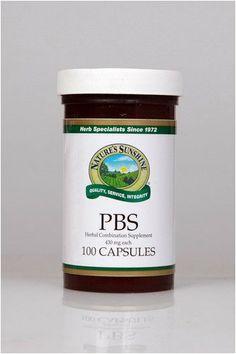 PBS (100 Caps) Nature's Sunshine,