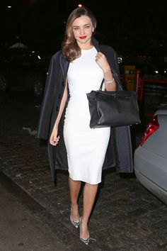 The Best Celebrity Little White Dresses  - HarpersBAZAAR.com