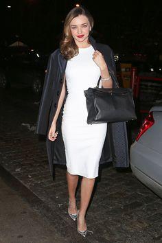 The Best Celebrity Little White Dresses  - HarpersBAZAAR.com