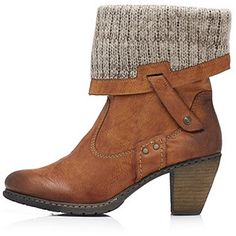 Claire Sutton loves this Rieker Knitted Fold Over Lining Ankle Boot - Tap the image to shop! Booty, Ankle, Stuff To Buy, Claire, Shopping, Shoes, Image, Fashion, Moda