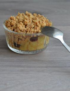 Suikervrije Appel Crumble