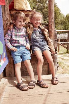 Birkenstock slippers voor jongens en meisjes
