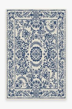 Delphina Delft Blue Rug [Sharing a few rugs options from Ruggable that you'll be able to toss in washer] Coral Rug, Navy Rug, Yellow Rug, Delft, Ancient Greek City, Black White Rug, White Rugs, White Sofas, Home Designer