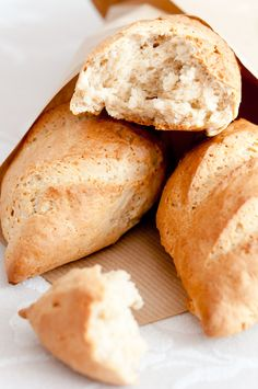 Panecillos exprés - quedan unos panecillos parecidos a los dinner rolls. Rapidísimos de hacer. Una buena alternativa si alguna vez no hay levadura de panadería.