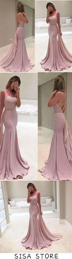 New Style One Shoulder Mermaid Special Occasion Dress Satin Real Made Prom Dresses, This dress could be custom made, there are no extra cost to do custom size and color Boho Chic Wedding Dress, Wedding Dress Chiffon, Chiffon Dresses, Affordable Prom Dresses, Cheap Prom Dresses, Long Dresses, Fall Dresses, Formal Dresses, Mermaid Gown Prom