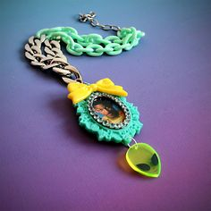 The fresh prince of Bel air alien 90's necklace by AnnKathrinKUHN, $48.00
