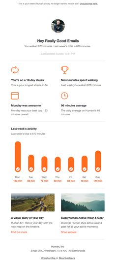 11 Best report emails images Best email, Email Newsletter Design