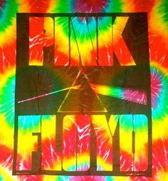 Tie Dye ~ Pink Floyd