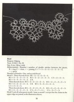 Tatting Patterns and designs - Lada - Picasa Web Albums