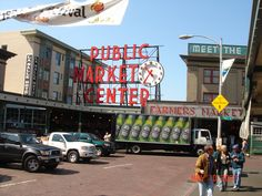 Seattle Fish Market - went here in 1989 before it was known to be THE place to visit in Seattle. Loved the show they do in tossing the fish around. Stinky though!