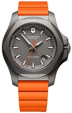 #Victorinox I.N.O.X. Titanium 241758 241758 #Klepsoo #Halloween #Watches #Orange
