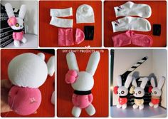 Diy Projects: How to Make Pretty Rabbit with Sock