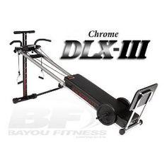 Bayou Fitness Total Trainer DLX-III Home Gym, (exercise, home gym, exercise machine, fitness, pilates machine, home gyms)
