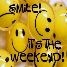 """Weekend Quotes : What do we do whenever we hear the word """"weekend""""? Enjoy your weekend fol. - Quotes Sayings Happy Weekend Quotes, Saturday Quotes, Weekend Humor, Its Friday Quotes, Happy Saturday, Happy Quotes, Funny Weekend, Smile Quotes, Happy Tuesday"""