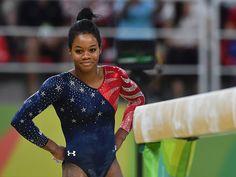 Hot: Gabby Douglas Responds to 'Hurtful' Social Media Bullying at Rio Olympics: 'It Doesn't Really Feel Good' Us Gymnastics Team, Gymnastics Facts, Gymnastics Images, Olympic Gymnastics, Olympic Games, Gymnastics Posters, Rio Olympics 2016, Summer Olympics, Usa Olympics