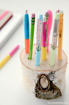 DIY Pencil Holder Instructions