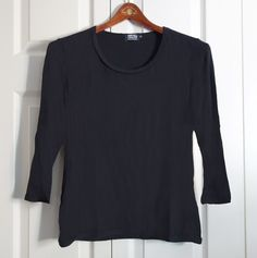 Tina Top in Black by Artful Sister.  Made in America